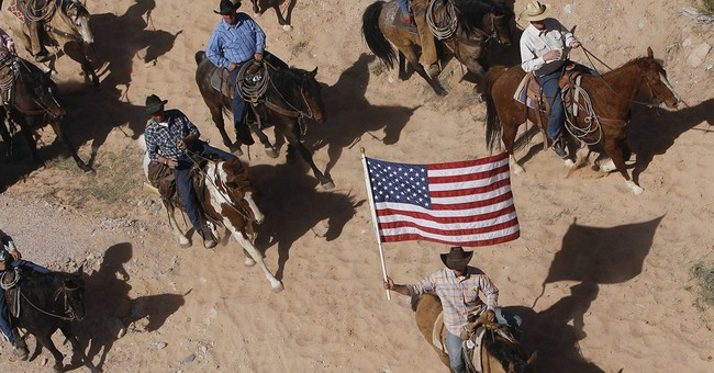 Nevada rancher's kin take grazing fight to sheriff
