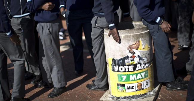 South Africa ruling party headed for win