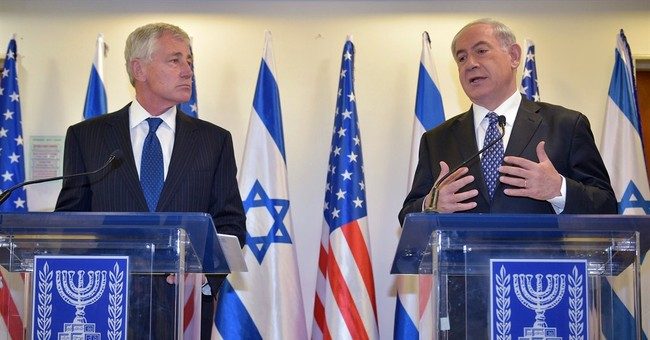 Hagel says US won't let Iran build nuclear weapon
