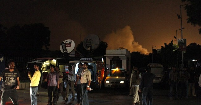 Attack on Pakistan airport leaves at least 23 dead