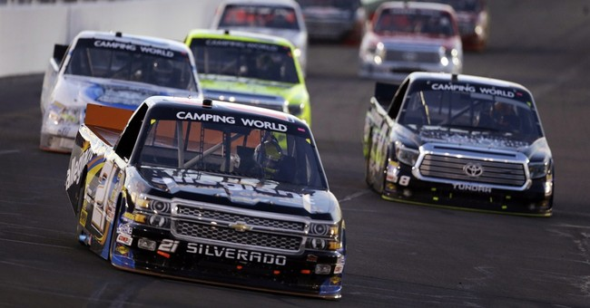 Darrell Wallace Jr. wins NASCAR Truck race