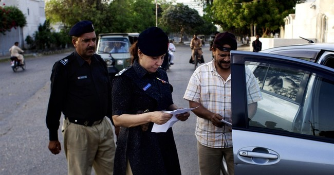 Woman heads police post in largest Pakistan city