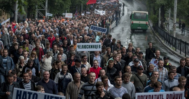 Ukraine's president offers cease-fire in east