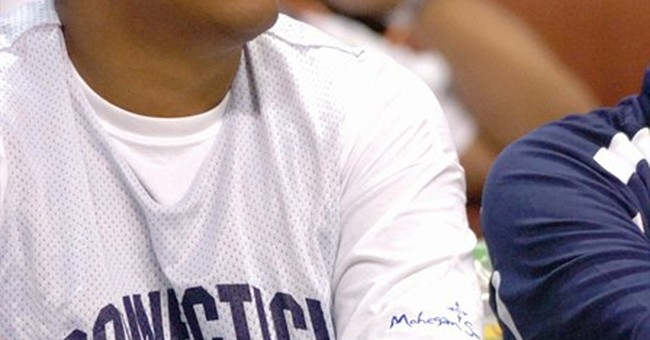 Fraud sentencing for ex-UConn, NBA player delayed