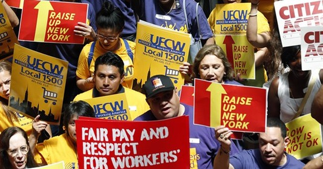 Minimum wage debate pits cities against states