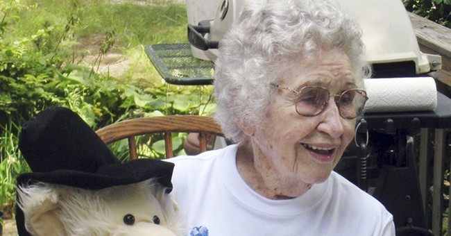 Murder charge still pending against woman at 102