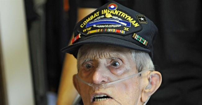 Veteran, 100, finally getting high school diploma