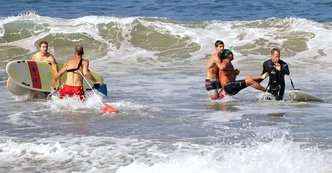 California shark bite victim feared for his life