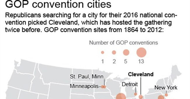 Cleveland tops Dallas in bid to host RNC in 2016