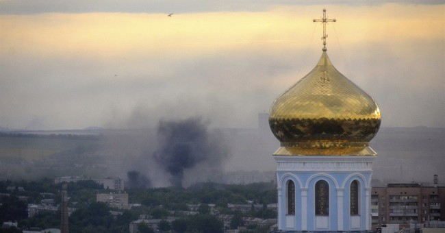 Airstrike in eastern Ukraine kills 11 civilians