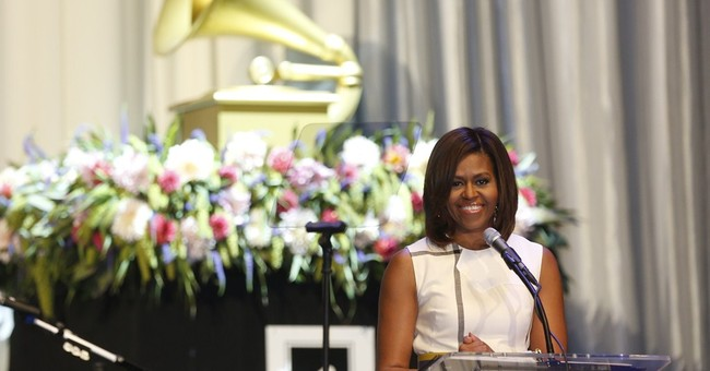 First lady salutes Grammy Museum, music teachers
