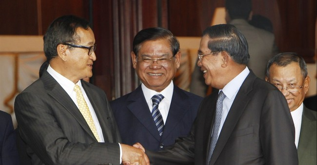 Cambodian political rivals say agreement reached