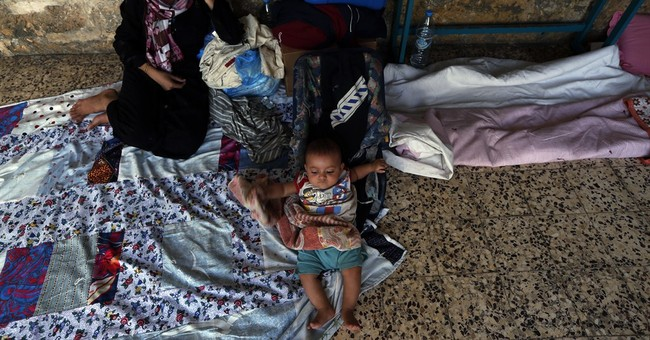 AP PHOTOS: Church a haven for Muslims in Gaza