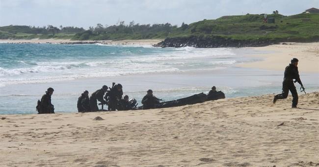 Japan practices amphibious landing in Hawaii