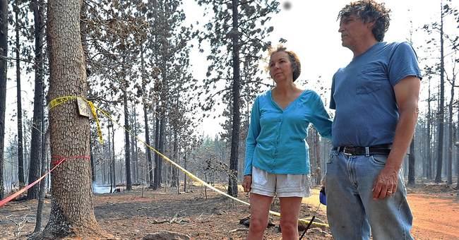 Northeast California wildfire destroys 8 homes