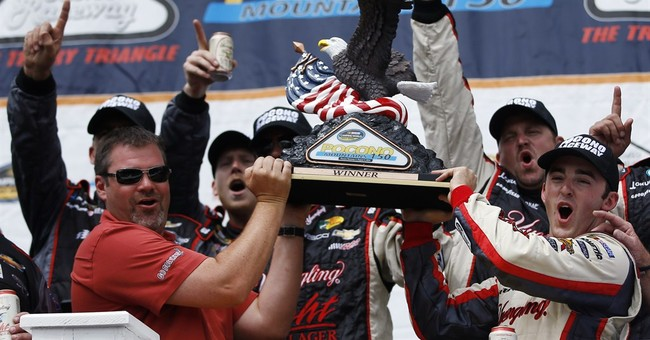 Austin Dillon wins Truck Series race at Pocono