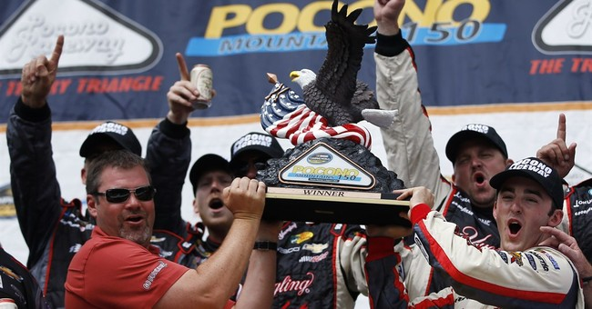 Austin Dillon wins Truck Series race at Pocono