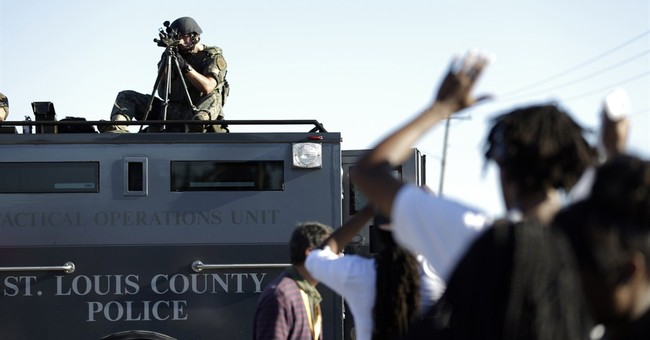 Critics: Police equipped like armies going too far