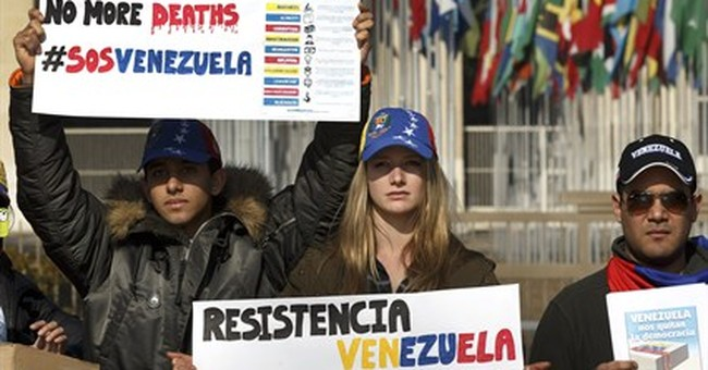 Protest stymied after Venezuelan diplomatic win