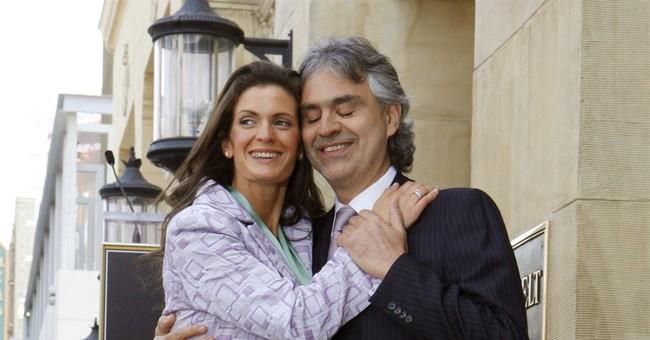 Andrea Bocelli marries longtime companion Berti