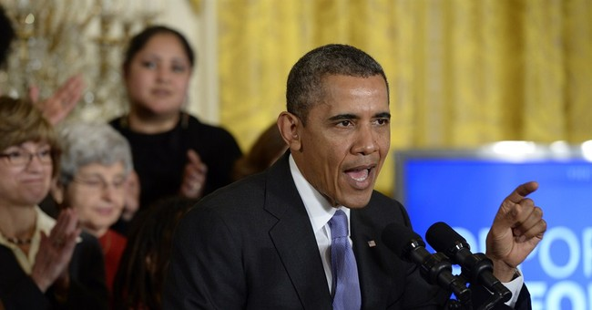 Obama Continues to Peddle Sexist Lies About Equal Pay