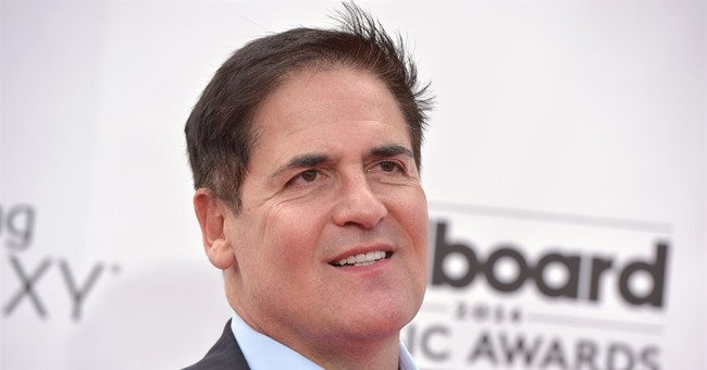 What are Jeb Bush, Mark Cuban and Michael Waltrip resolving to do in the New Year?