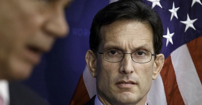EARTHQUAKE: Eric Cantor Loses Primary to Unheralded, Under-funded Tea Party Challenger