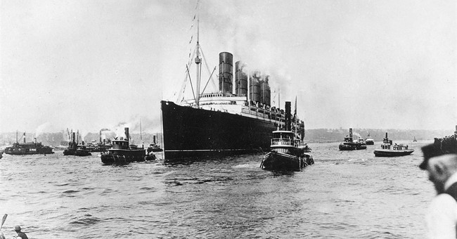 Behind the Sinking of the Lusitania