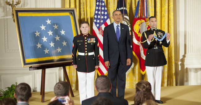 Hero Who Jumped on Grenade to Save Fellow Marine Receives Congressional Medal of Honor