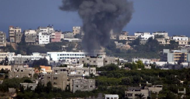 Israel Hits Gaza (Gaza hits Israel? Shhh!)