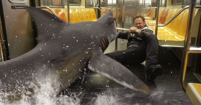 'Sharknado 2' Takes Chainsaw to NYC Gun Control Policy