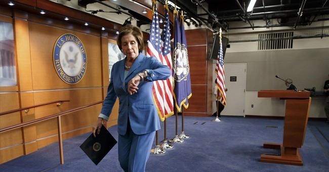 Nearing 2014 Finish Line, Pelosi Stumbles