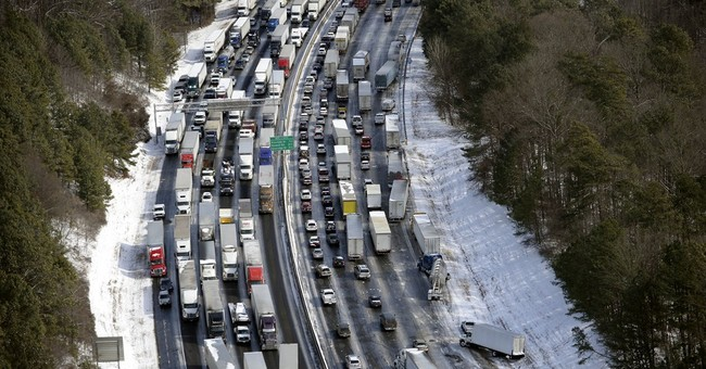 Atlanta Snow Jam Proves Citizens can Accomplish What Big Government Can't