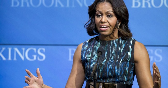 Mrs. Obama's Tall Tales of Racialized Victimhood