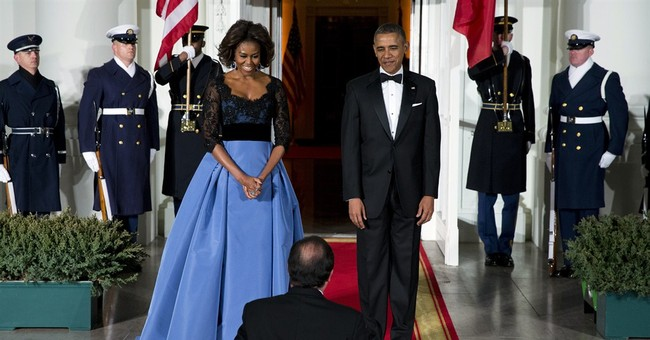 The Painful Irony of Michelle Obama's $12,000 Dress