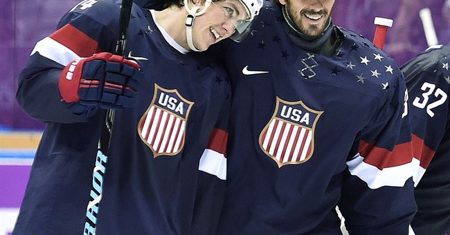 T.J. Oshie: 'The Real Heroes Wear Camo'