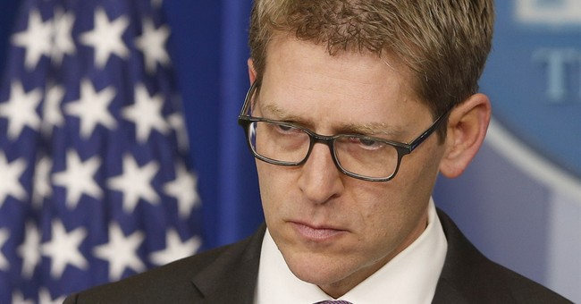 "Jay Carney Tries to Spin Damning Benghazi Email Evidence as ""Republicans With Conspiracy Theories"""