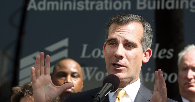 LA Mayor Exemplifies America's Decline