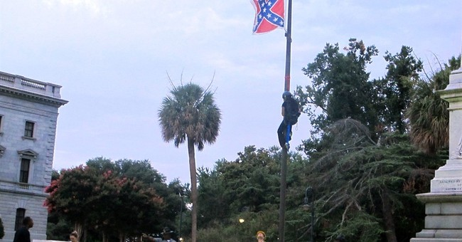 Woman Removes Confederate Flag In Front Of SC Statehouse AP News
