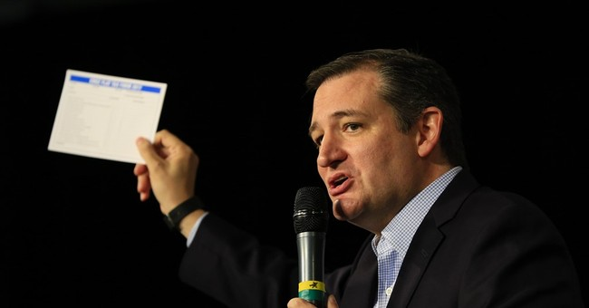 Pre-Debate Surprise: Ted Cruz Lays Out Plan to Eliminate Five Federal Government Agencies