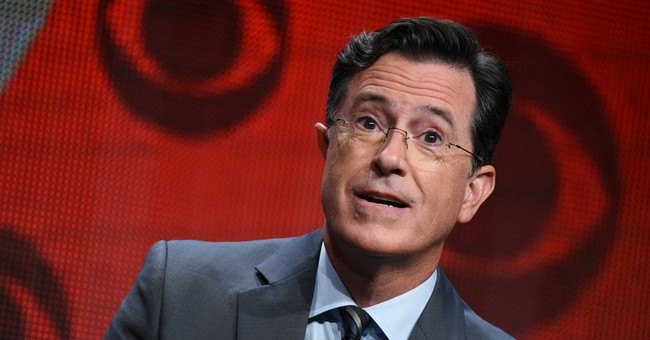 Stephen Colbert Shared a Fun Memory of Antonin Scalia