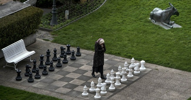 Female chess players protest Iran hijab rule
