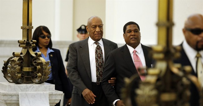 'Drudge Report' Chooses Unique Photo To Announce News Of Cosby Trial