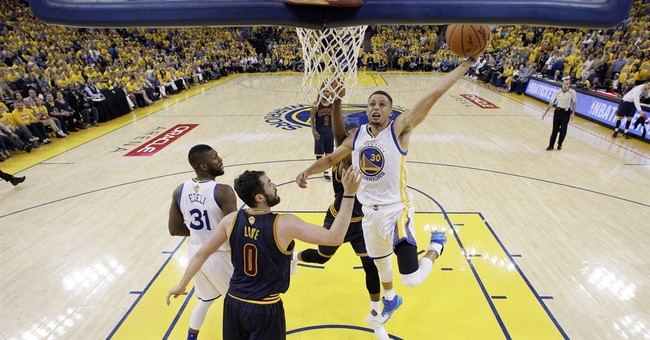LeBron James says Steph Curry definitely deserved MVP: 'I made the mistake'