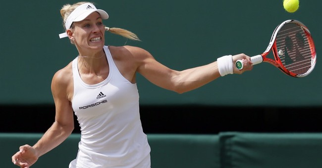 Kerber aiming to follow in Graf's Wimbledon footsteps