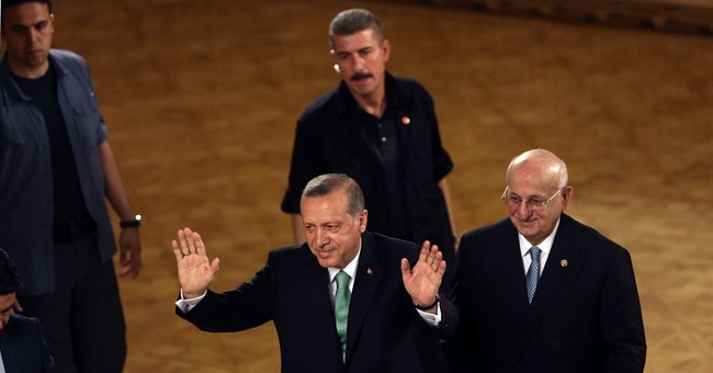 Turkey to disband its presidential guard