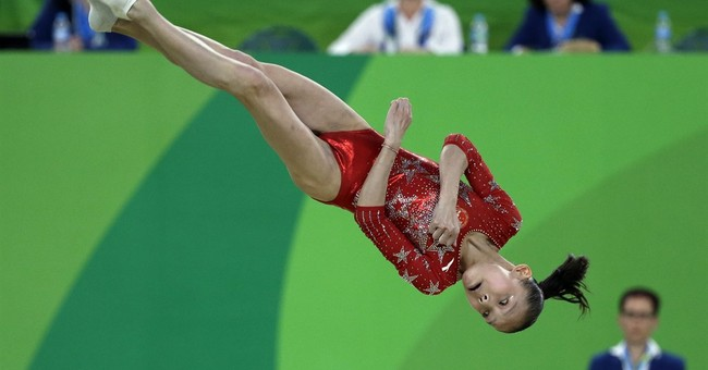 United States of America dominates in women's gymnastics