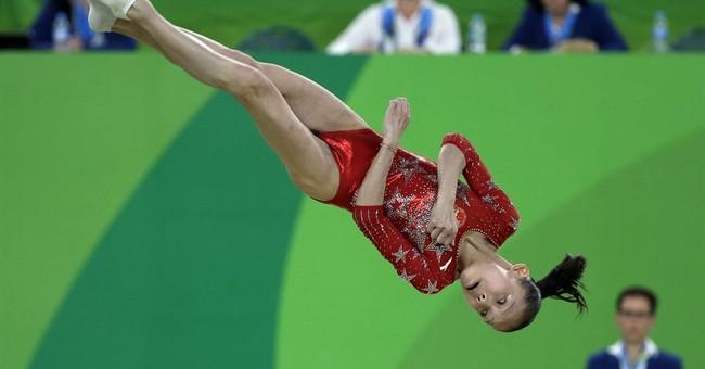 United States of America dominates in women's gymnastics