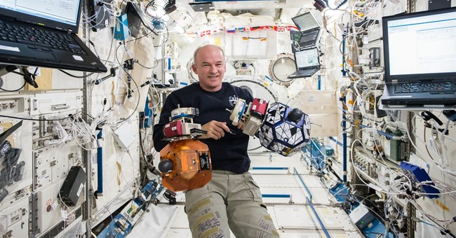 Jeff Williams marks his 521st day in space on Wednesday