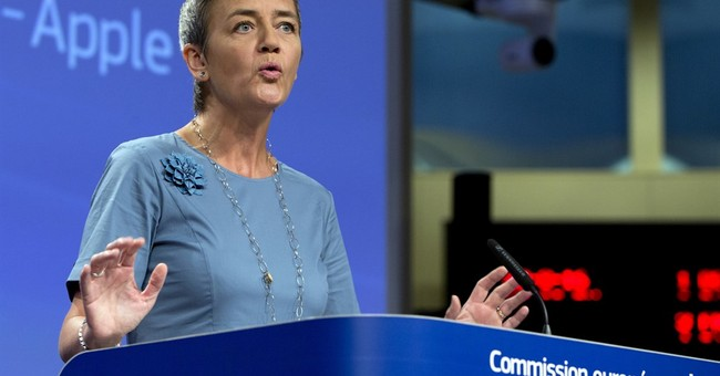 Apple owes $14.5 billion in back taxes to Ireland, EU says